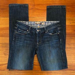 PAIGE 'Skyline' Straight Leg Jeans Sz 27 EUC